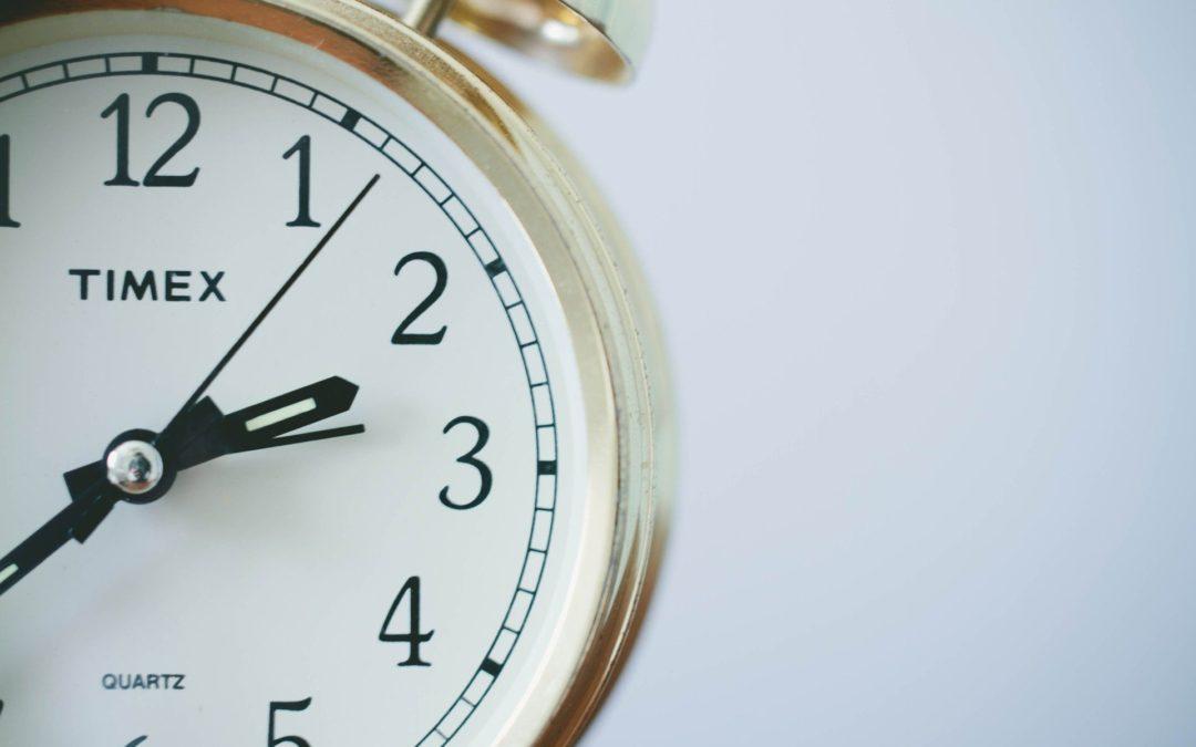 Cambio de hora y Krisalis
